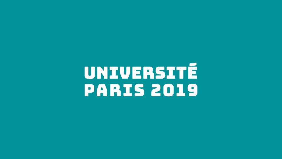 Université Paris 2019